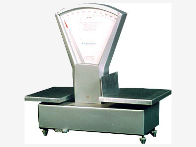 Weighing scale (tilting)